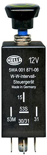 HELLA 5WA 001 871-061 Regler, Wisch-Wasch-Intervall - 5-polig