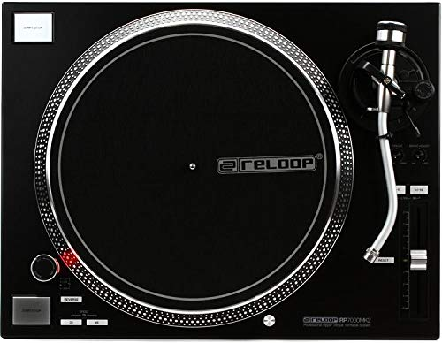 Great Deal! Reloop RP-7000 MK2 Direct Drive Turntable - Black (2-pack) Value Bundle
