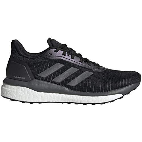 adidas Solar Drive 19 Running Casual Zapatos,, (Negro | Gris | Blanco), 36 EU