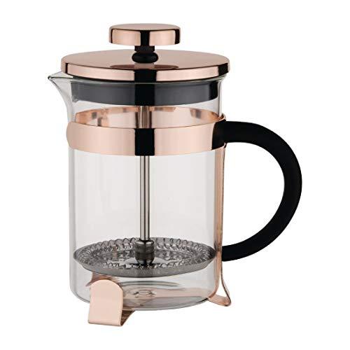 Olympia DR747 Moderne Kaffeemaschine aus Kupfer für 12 Tassen, 1,5 l Fassungsvermögen, 230 mm x 120 mm x 170 mm, Kupfer