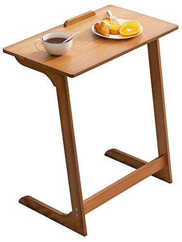 WANGLX Side Table Tv Trays for Eating Table, Sofa Side Table Coffee Table Mini Square Table Bedside Table Tabletop Adjustable