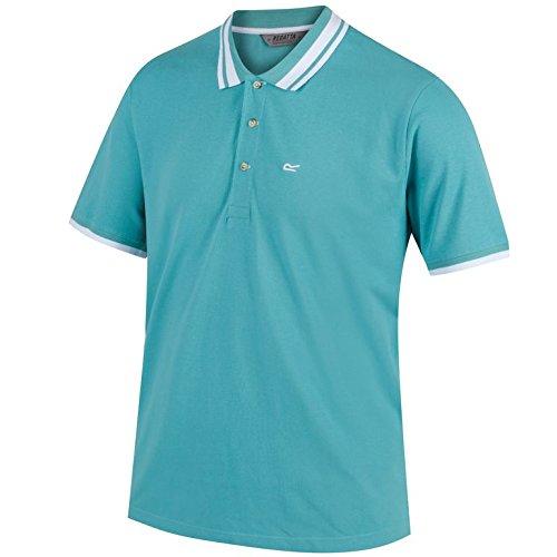 Regatta Talcott T-Shirts/Polos/Gilet. Homme, Vert Jade, L