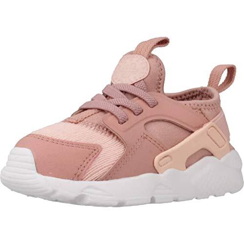 Nike Huarache Run Ultra Se (TD), Pantofole Unisex-Bimbi, Multicolore (Rust Storm Pink/White 600), 18.5 EU