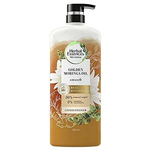 Herbal Essences Bio Renew Smooth Golden Moringa Oil Conditioner, 600 ml