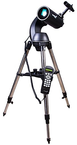 Telescopio Informatizado Levenhuk Skymatic 105 GT MAK – 102 mm Maksutov-Cassegrain con Función Go To