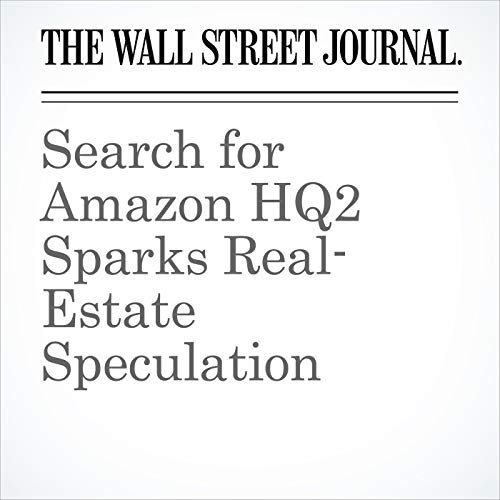 Search for Amazon HQ2 Sparks Real- Estate Speculation copertina