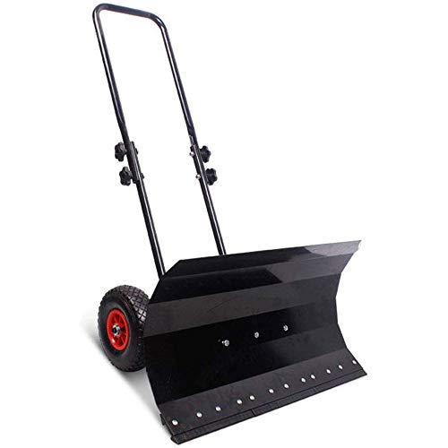 Why Should You Buy Life HS Trolley Snow Removal, Double Pole Adjustable Snow Shovel and Handlebars, ...