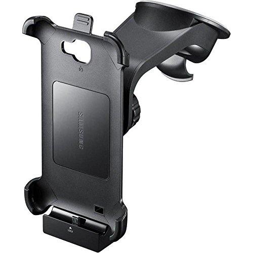 Samsung Original KFZ-Halterung inkl. Ladegerät / Gerätehalter und Saugfuß ECS-K1E1BEGSTD (für Samsung N7000 Galaxy Note) in schwarz