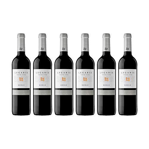 Legaris  Vino Tinto Fino Legaris Roble  D.O. Ribera del Duero   Caja de 6 botellas de 75 cl