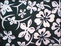 Hawaï Stoelhoezen - Tweepersoons bank, Farbe:Schwarz