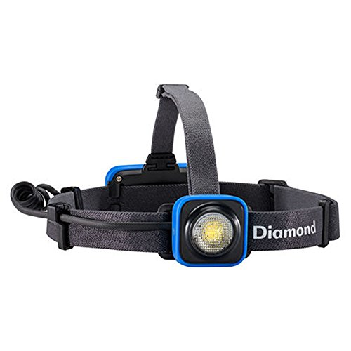 Black Diamond Unisex's Sprinter Rechargeable Headlamp 200 lumens, Smoke...