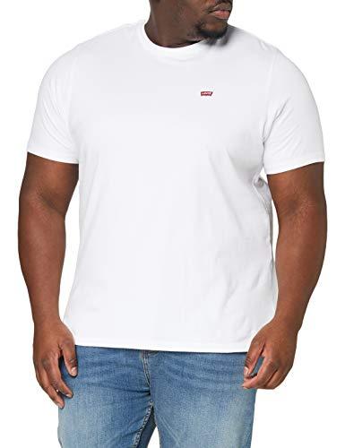 Levi's Big Original HM Tee T-Shirt, White +, 2XL Homme
