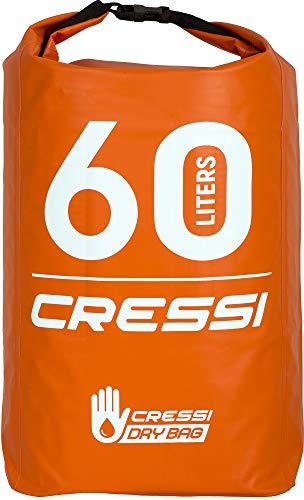 Cressi Dry Bag, Sacca/Zaino Impermeabile per attività Sportive Unisex Adulto, Arancio, 10 LT