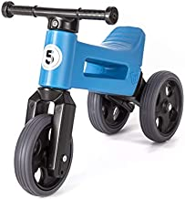 FREE WHEELIN RIDER Balance Bike (Blue)