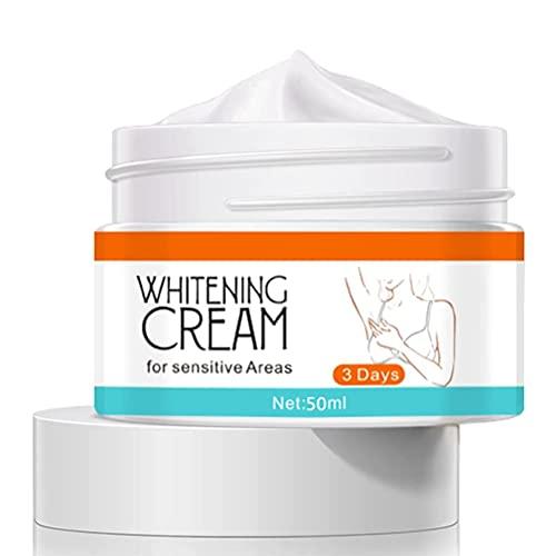 Crème blanchissante pour les genoux, coudes sous les bras, crème éclaircissante, hydratant pour le corps, crème pour la peau intime pour les aisselles, le cou, les genoux et les aisselles