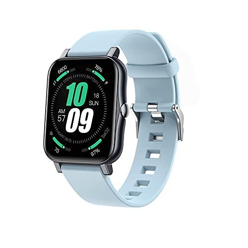 LGDD Reloj Inteligente S80 Pro para Hombres Y Mujeres Contador de Calorías del Podómetro del Monitor del Ritmo Cardíaco Reloj Deportivo Bluetooth Impermeable IP68 con Pantalla HD de 1