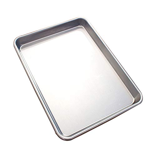 Andifany Baking Pan Sheet Baking Sheet for Oven - Perfect Cookie Sheet for Baking,Commercial or Home Use-Heavy Duty