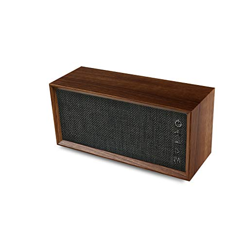 BLAUPUNKT BLP3640-193 Lautsprecher, Subwoofer, Vintage, kompatibel mit Bluetooth, 10 W (5 W x 2), Holz