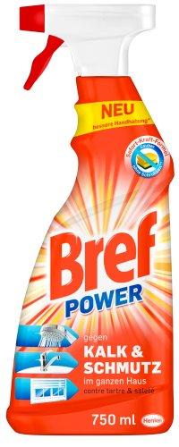 Bref Power gegen Kalk&Schmutz, 8er Pack (8 x 750 ml)