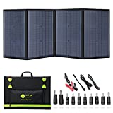 100 Watt Portable Solar Panels, Foldable Solar Panel Charger, Compatible with Solar Power...