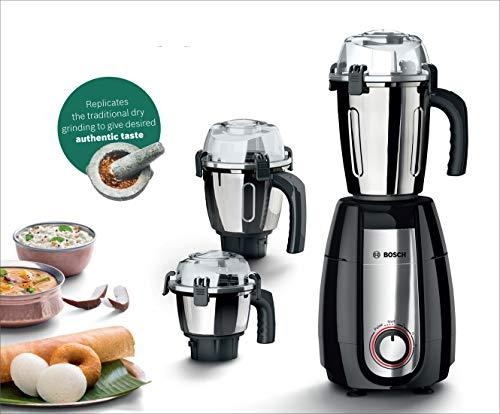 Bosch Appliances TrueMixx Pro Mixer Grinder, 750W, 4 Jars, Black