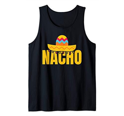 Witziges Sombrero T-Shirt - Nacho Mexiko Fiesta Hut Mann Tank Top