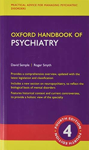 Oxford Handbook of Psychiatry (Oxford Handbooks)