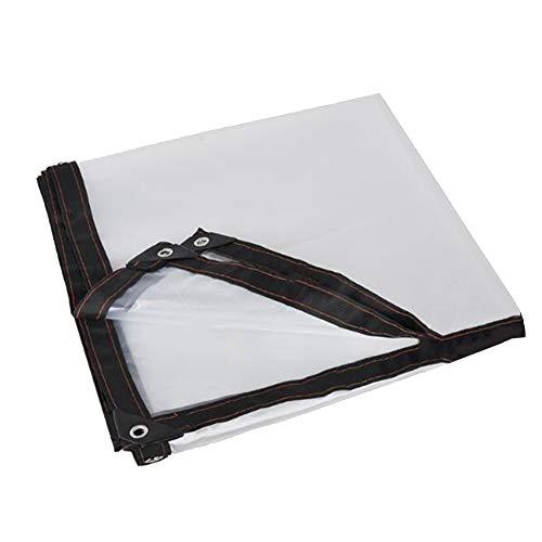 SSRS La Cubierta Transparente Impermeable Lona suculentas protección de la Cubierta, tamaños múltiples portátil, Duradero (Color : Clear, Size : 4X6M)