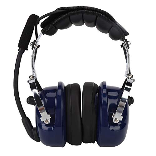 Find Discount Serounder Walkie Talkie Headphone, M Head PC Housing Headphone with 3 Push-to-Talk But...