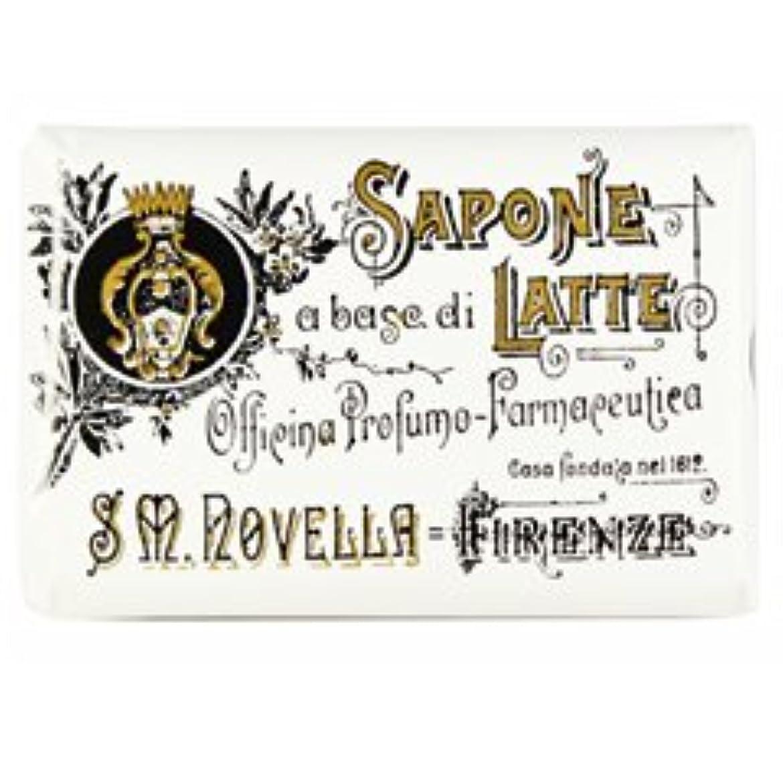 株式詩【Santa Maria Novella(サンタマリアノヴェッラ )】ミルクソープ ビオレッタ 100g Milk Soap
