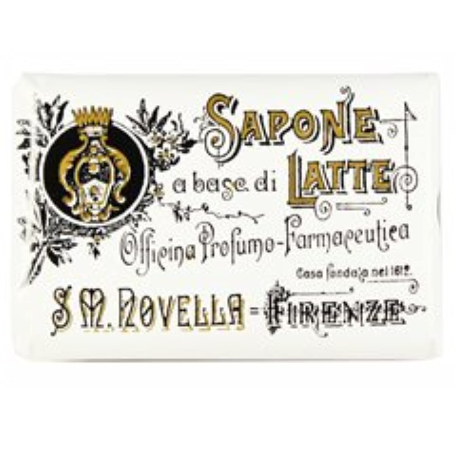 ラックパケット右【Santa Maria Novella(サンタマリアノヴェッラ )】ミルクソープ ビオレッタ 100g Milk Soap