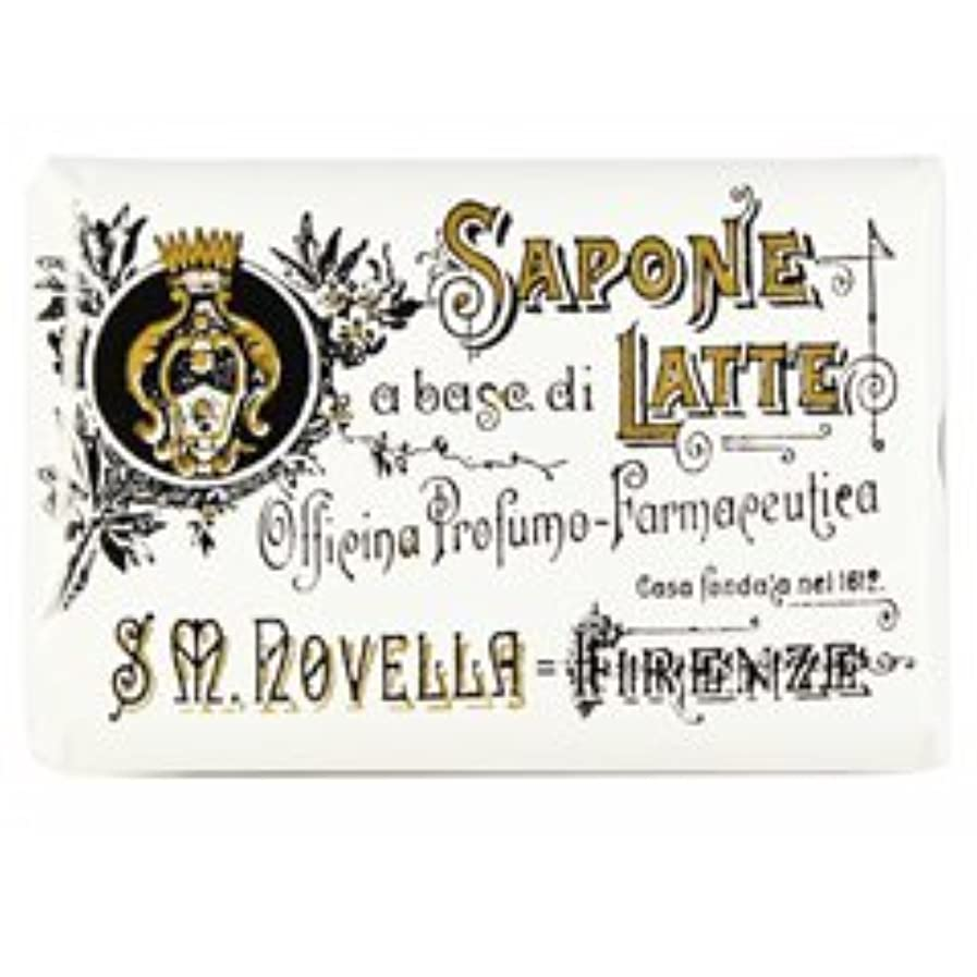侵略権限を与える薄める【Santa Maria Novella(サンタマリアノヴェッラ )】ミルクソープ ビオレッタ 100g Milk Soap