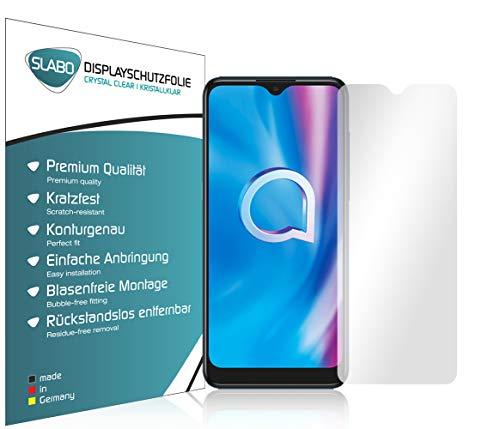 Slabo 4 x Bildschirmschutzfolie für Alcatel 1S (2020) | 1V (2020) | 3L (2020) Bildschirmfolie Schutzfolie Folie Zubehör Crystal Clear KLAR