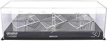 William Byron #24 Hendrick Motorsport 3 Car 1/24 Die Cast Display Case - Nascar Display Cases Logo