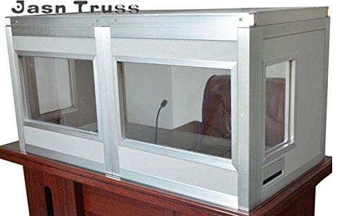 Dolmetscherkabine, tabletop Kabine für Simultanübersetzungen