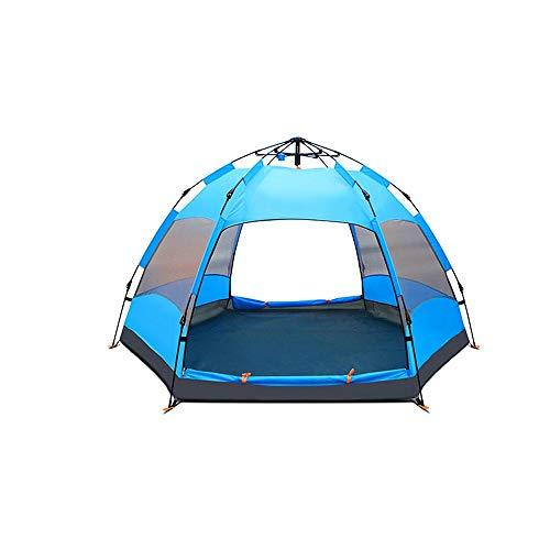 Jiamuxiangsi- Automatische tent Buiten Mensen Verdikte regen 5-8 Personen Camping Om Regen Cover sturen 272X270X150CM -tent