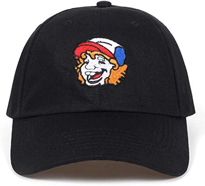 Chlally Unisex Cotton Cartoon Character Snapback Cap Baseball Cap for Men Women Hip Hop Hat