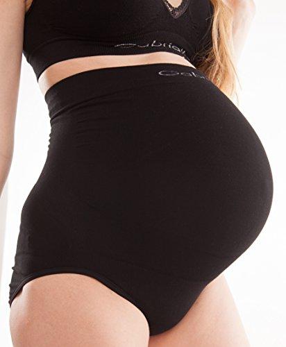 GABRIALLA Nahtlose Umstandswäsche für Schwangere | Natürlich, atmungsaktiv, antibakteriell | Schwangerschaftswäsche aus Milchgarn