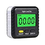 GoolRC Digital Angle Finder Gauge 360 Degree Mini Digital Protractor Inclinometer Magnetic Angle Cube Electronic Level Box with LCD Display for Construction Automobile Repair Carpenter Craftsman Home