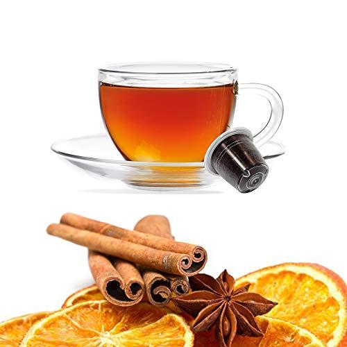 50 Capsulas Tisana Naranja y Canela Compatibles Nespresso -