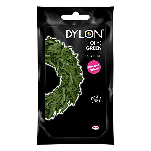 Dylon Hand Dye Sachet (NVI) 34 Olive Green Fast Postage