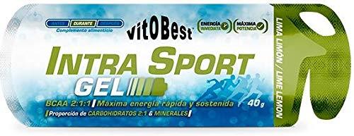 GEL INTRA SPORT 12 X 40 g LIMA - LIMON - Suplementos Alimentación y Suplementos Deportivos - Vitobest