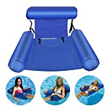 JINGOU Inflatable Water Hammock Pool Float Bed Lounger Chair Drifter for Swimming Pool Beach Holiday Party