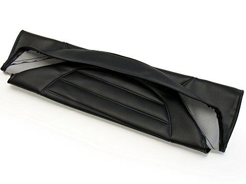 FEZ Sitzbezug strukturiert, schwarz ohne Schriftzug - für Simson S53, S83, SR50, SR80