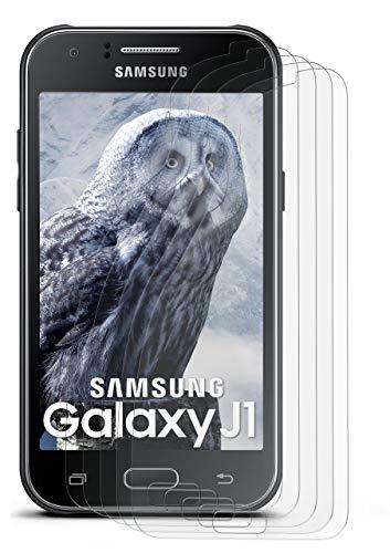 moex Anti Reflex Bildschirmschutzfolie kompatibel mit Samsung Galaxy Grand Prime | Schutzfolie Matt Bildschirm Folie gegen Reflexionen, flexibel, 5X Stück