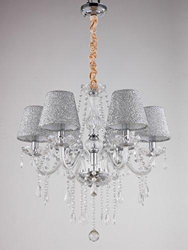 Lampada da soffitto lampadario regolabile in altezza plafoniere aufhaen gbarer tenlion lampada lampadario lampade da soffitto di cristallo