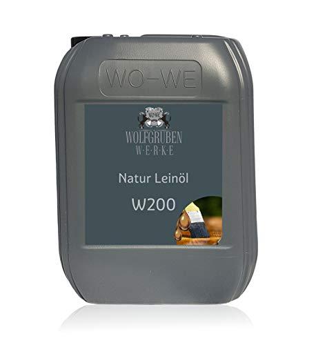 Aceite de linaza natural para protección y cuidado de la madera W200-10L