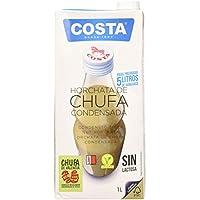 Costa Costa Horchata De Chufa Condensada 1L. Slim 1000 ml - Pack de 6