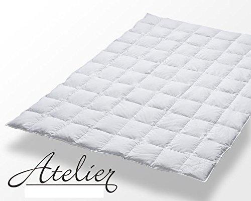 Exlusive Eiderdaunen Decke 135/200 weiss 100% Eiderdaune