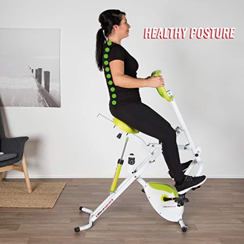 F-Bike Design Fahrradtrainer Ultrasport Heimtrainer Bild 5*